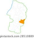 山形縣 地圖 山形 28510889