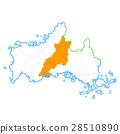 Yamaguchi City and Yamaguchi Prefecture Map 28510890