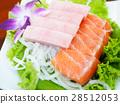 生魚片 冰冷 新鮮 28512053