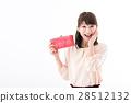 一個年輕成年女性 女生 女孩 28512132