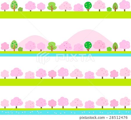 樱花页脚材料 28512476