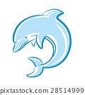 海豚 矢量 矢量图 28514999