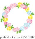 玫瑰 玫瑰花 框架 28516802