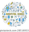 medical, icon, set 28516933