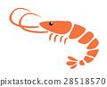 小虾 矢量 矢量图 28518570