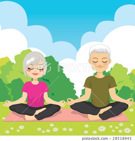 Senior Yoga Park 28518943