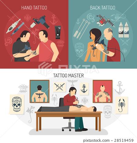 Tattoo Studio Design Concept 28519459