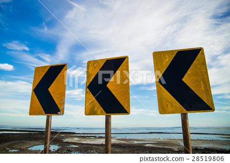 도로 표지판 28519806