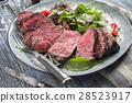 Wagyu Point Steak with Italian Salad 28523917