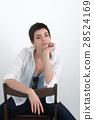 椅子 女人 女性 28524169