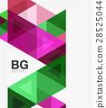 抽象 三角形 幾何學 28525044
