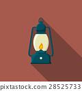 Flat vector illustration of lantern icon 28525733