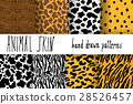 Animal skin texture Vector seamless pattern 28526457