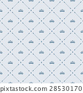 Royal wallpaper seamless pattern with crown  28530170