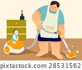 清潔 爸爸 女兒 28531562