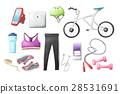圖標 自行車 腳踏車 28531691