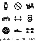 workout, icon, vector 28531821