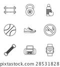 active, sport, icon 28531828