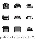 types, warehouse, icon 28531875