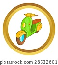scooter icon vector 28532601