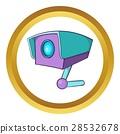 cctv, camera, icon 28532678