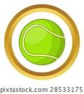 网球 球 图标 28533175