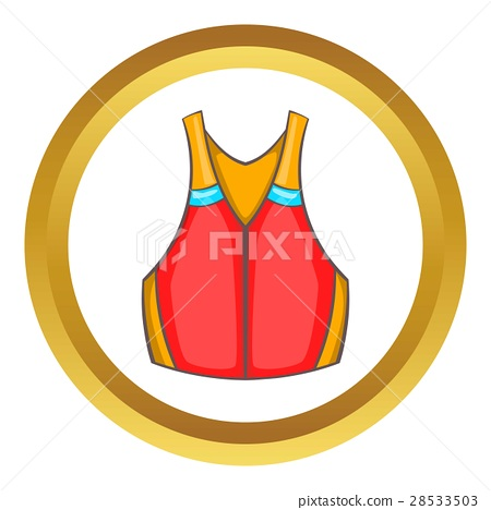 Life vest vector icon 28533503