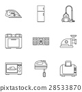 icon, vector, set 28533870