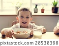 bowl, boy, cereal 28538398