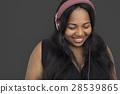 adult, african, listen 28539865