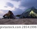 營地 露營 夫婦 28541996
