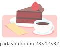 矢量 蛋糕 茶點 28542582
