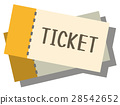 Illustration material ticket 28542652
