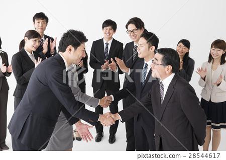 商務人士 商人 男性白領 28544617