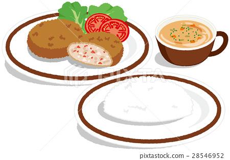 Western set meal 28546952