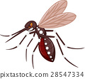 Angry mosquito cartoon 28547334