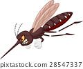 Angry mosquito cartoon 28547337