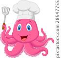 章鱼 大厨 主厨 28547755