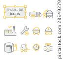 icon, truck, refinery 28549279