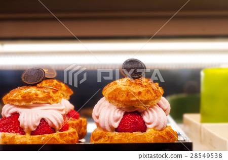 甜點,夾心味葙,甜點,三明治泡芙,甜點, 28549538