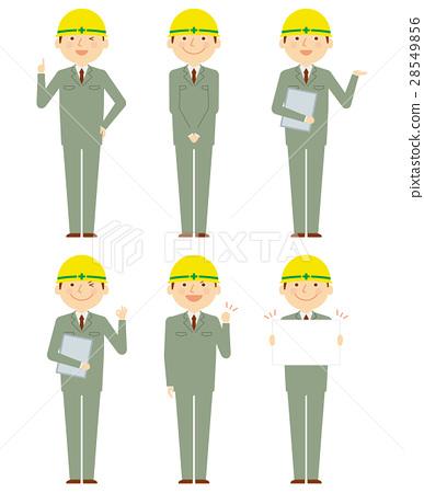蓝领工人 工人 男性 28549856