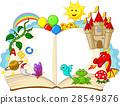fantasy, cartoon, vector 28549876