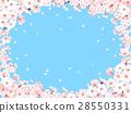 벚꽃, 프레임, 틀 28550331