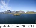 Summer view of Lofoten Islands, Norway 28550936