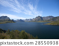 Summer view of Lofoten Islands, Norway 28550938