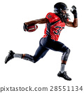 american football player man isolated 28551134