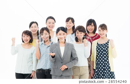 비즈니스 우먼과 여성 28554240