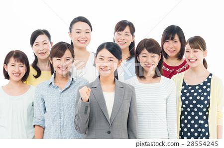 비즈니스 우먼과 여성 28554245