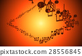 Abstract Background with Colorful Music notes. 28556845