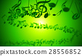 Abstract Background with Colorful Music notes. 28556852